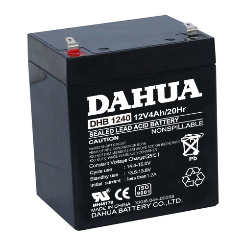 12V 4ah VRLA Sealed Lead Acid Maintenance Free UPS Battery