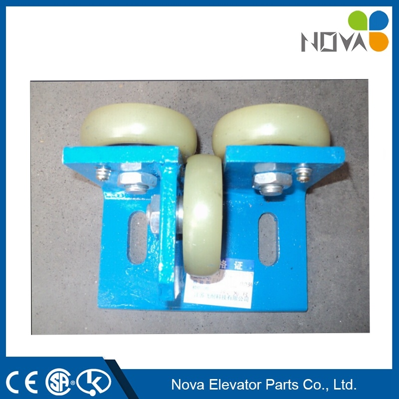[Hot Item] Elevator Rolling Guide Rail Shoes, Elevator Shoes for Elevator  Cabin and Counterweight