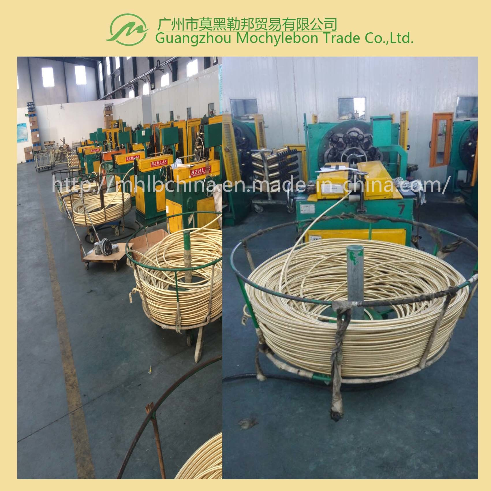 Steel Wire Braided Reinforced Rubber Covered Hydraulic Hose (SAE100 R2-3/8) pictures & photos