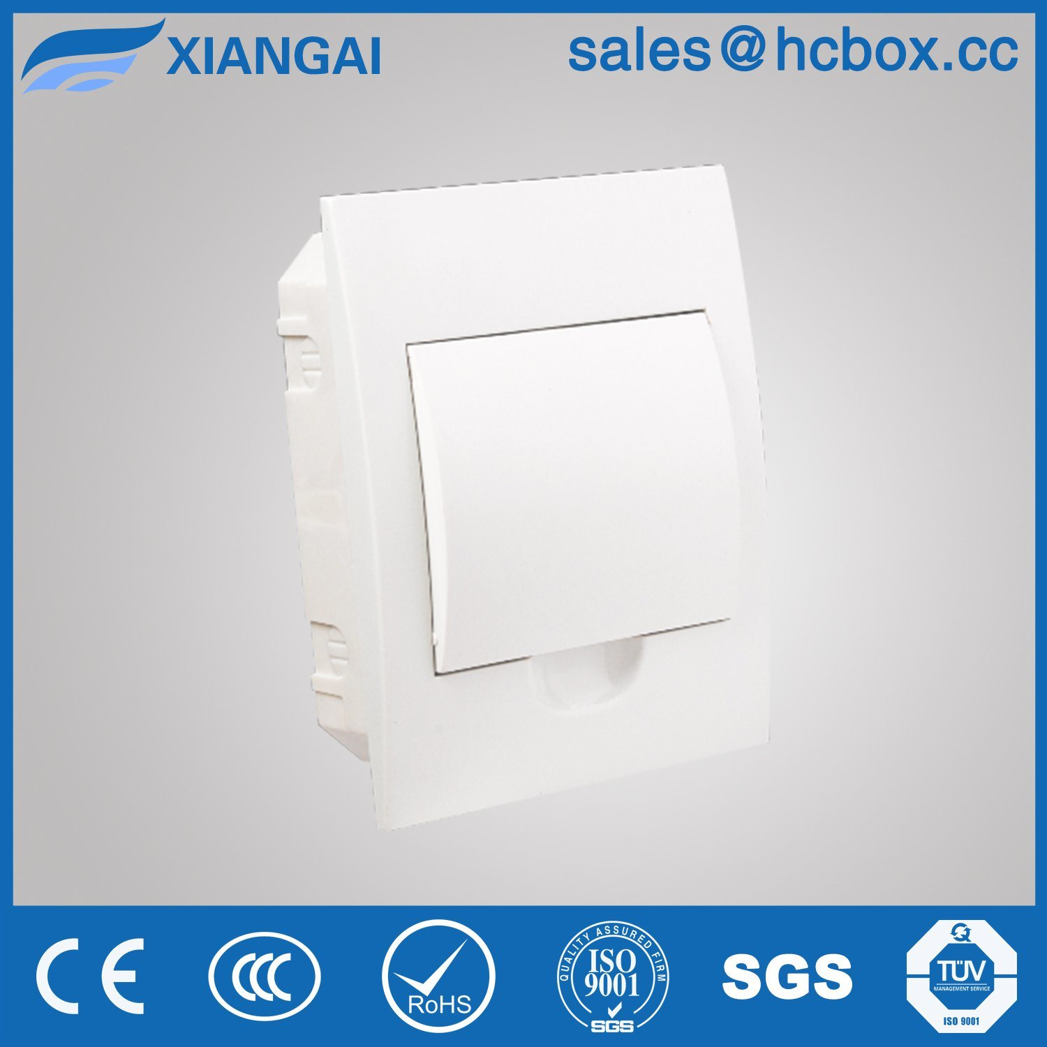 Platsic Distribution Box Cabinet Plastic Box Terminal Box Switch Box Hc-Tfw 6ways