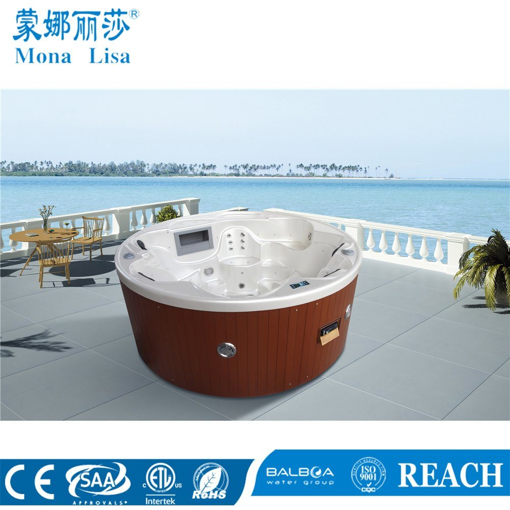 China Round Jacuzzi Whirlpool Massage Pool SPA Hot Tub (M-3356 ...