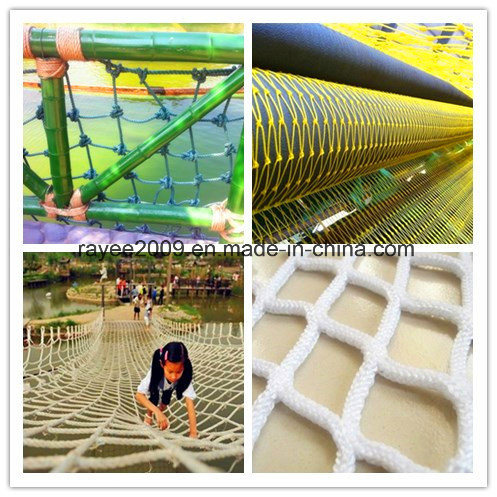 china uv stabilizer durable climbing nets playground for kids