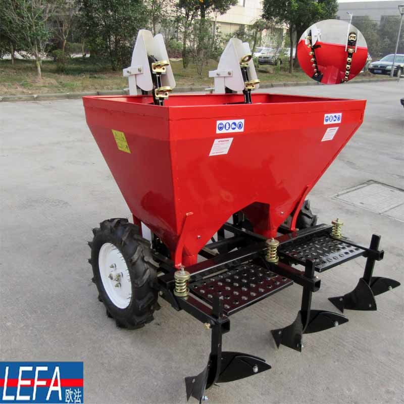 China With Fertilizing Two Row Seed Planters For Potato 2cm 2