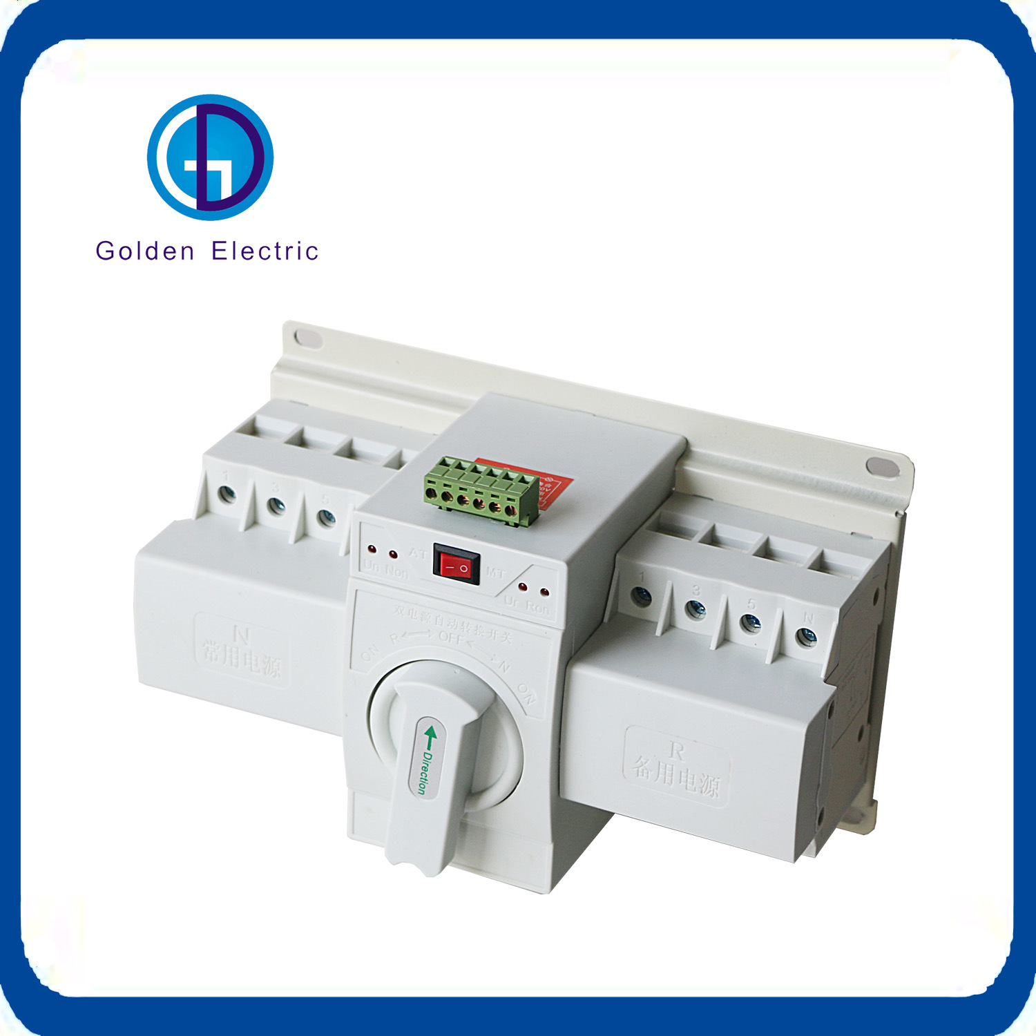 China Ce Electrical White Type Automatic Change Over Switch Transfer ...