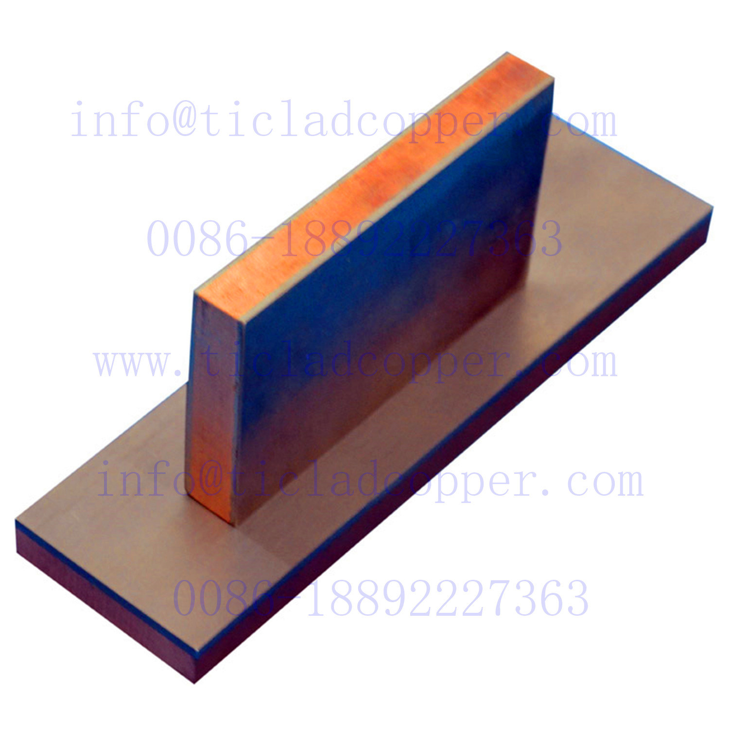 Metallurgical Bond/Explosion Bonding Titanium Clad Copper Sheet/Plates pictures & photos