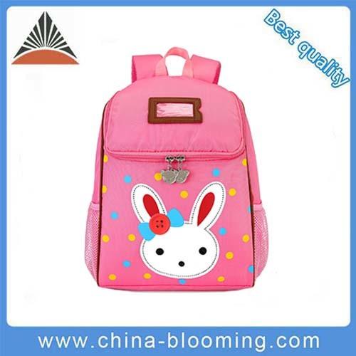 China Girls Cartoon Rabbit Kids Backpack Pink Baby School Children ... ec410e69e7b44