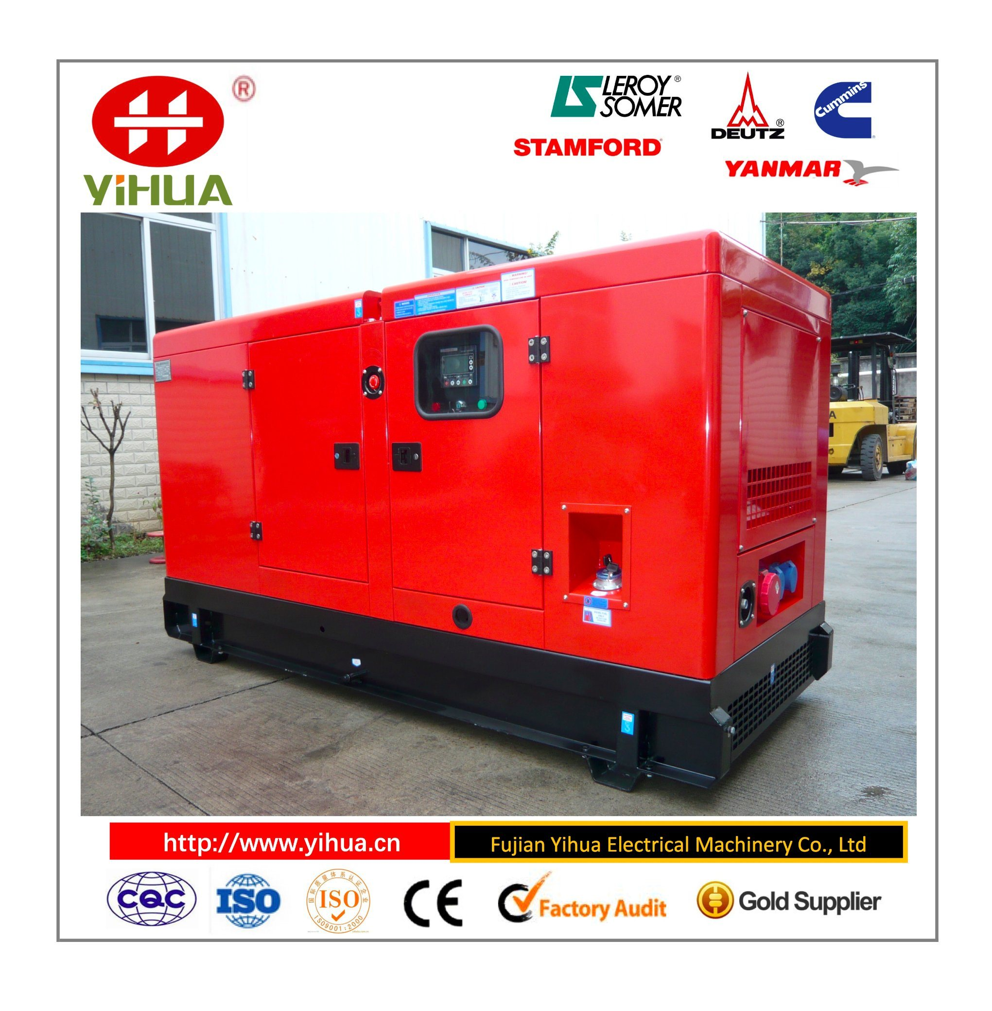 China N4105zds Kofo 50kw Silent Power Generator s &