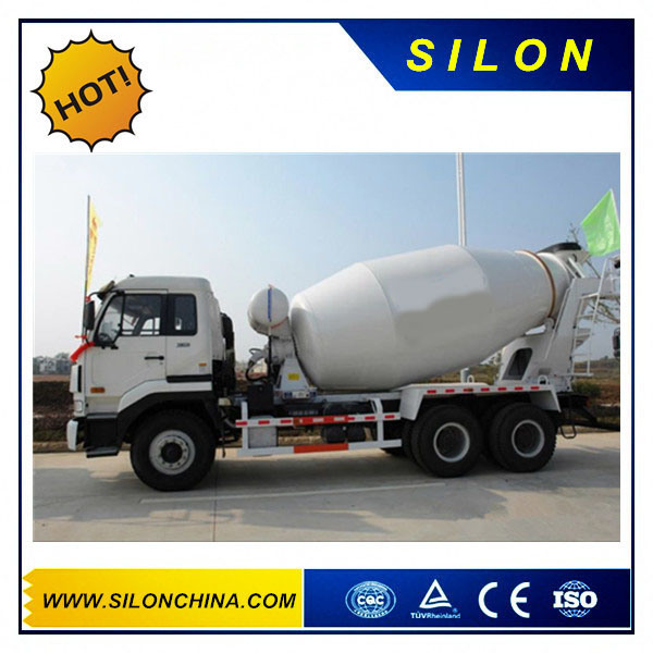 Cimc HOWO Truck Chassis 6X4 6m3 Concrete Mixer Truck (G06ZZ) pictures & photos