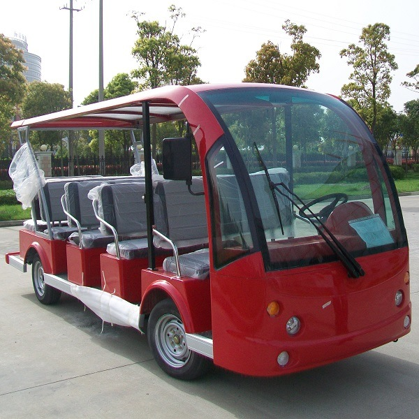 Ce Approve Marshell 14 Seats Electric Sightseeing Bus (DN-14) pictures & photos