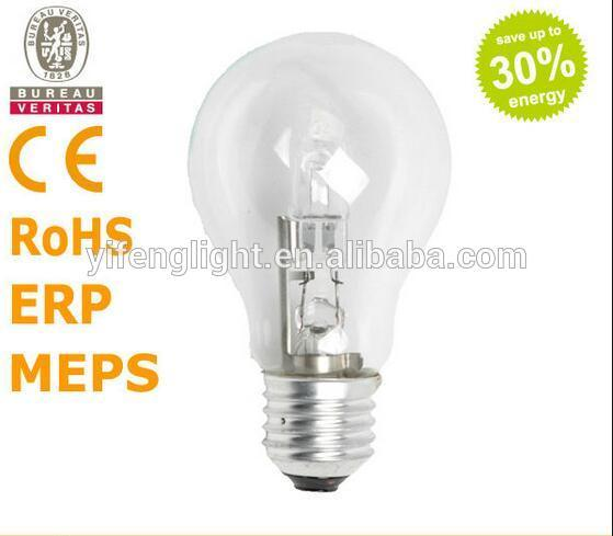 Italiy Energy Saving and High Quality Classic E27 A55 Eco Halogen Lamp 18W/28W/42W/53W/70W 2000h pictures & photos
