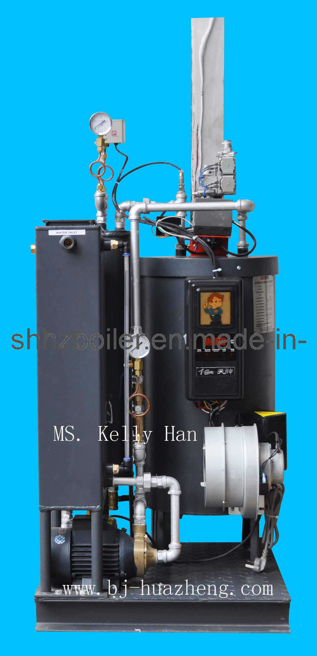 China 70kw Coil Tube Oil Fired Hot Water Boiler - China Boiler, Oil ...