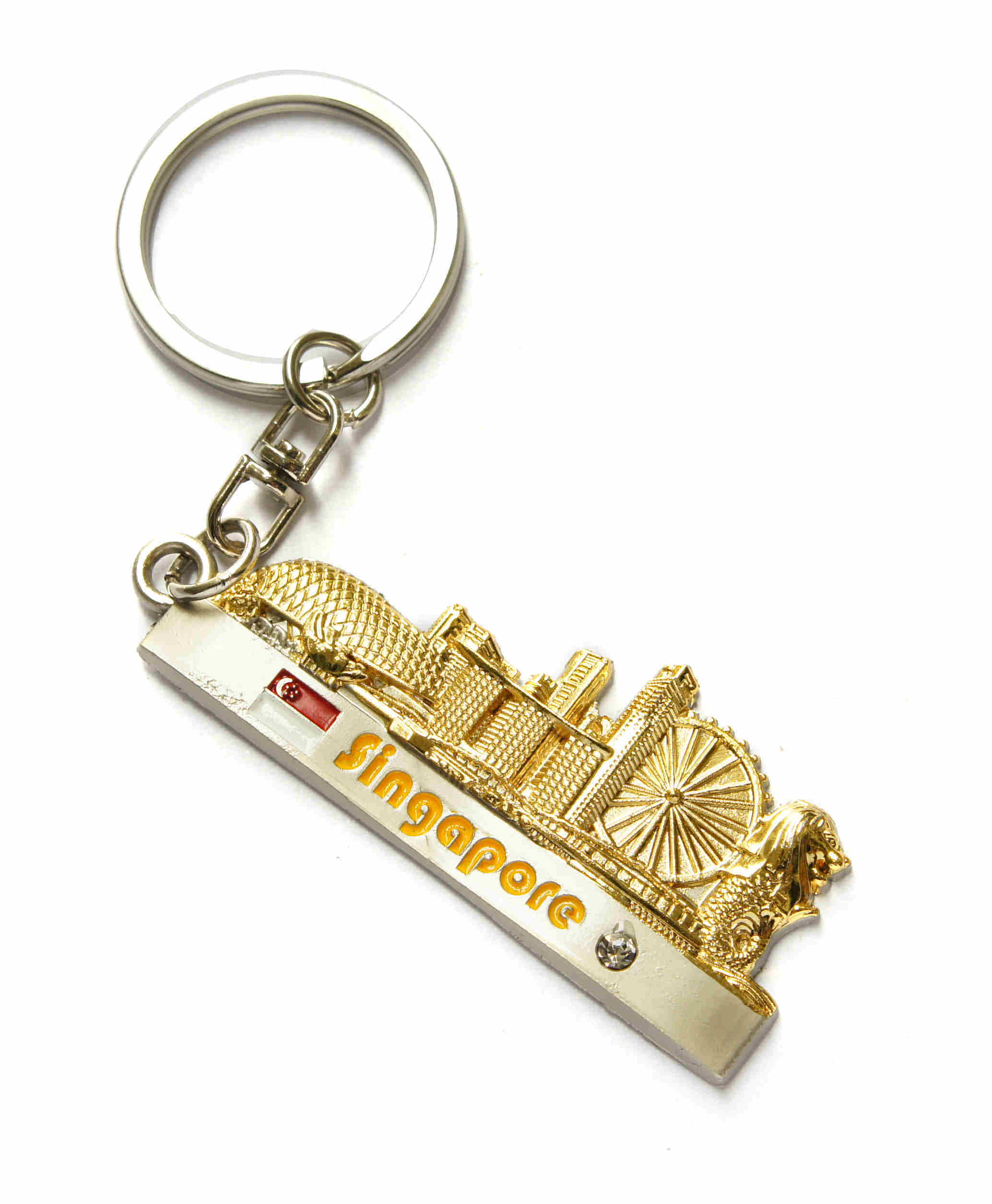 China Tour Souvenir Singapore Gift Merlion Key Chain (K616) - China Keychain 01a9b8ec59cb