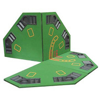 Folding Octagon Poker/Blackjack Table Top (PTT202)