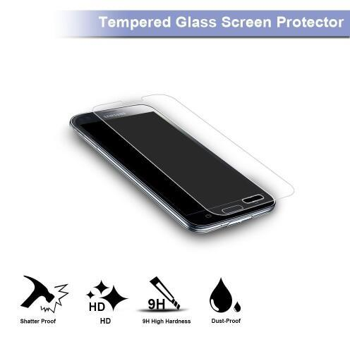 Tempered Glass/ Screen Protector for Samsung Galaxy S8 S7 S6 S5 S4 Note5 Note4 Note3