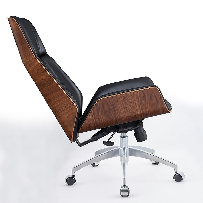 Chair Household Simple Curvy Wood