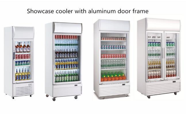 China Fan Cooling Single Door Upright Beverage Fridge Drink ...