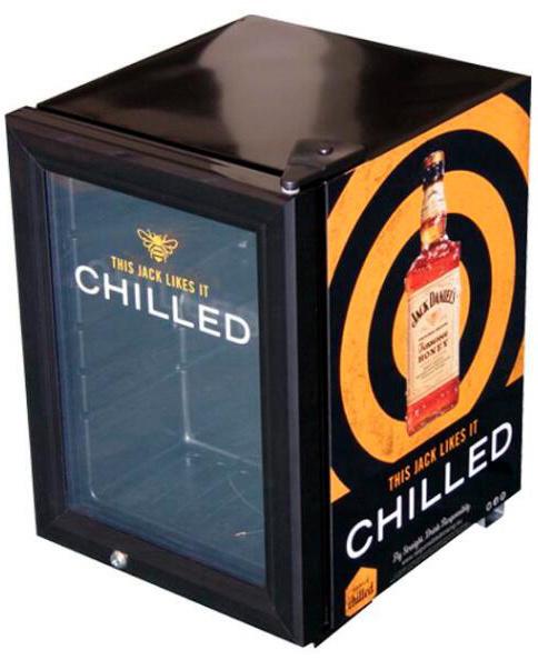 China Small Drink Fridge With Glass Door Display Cooler Jga Sc21