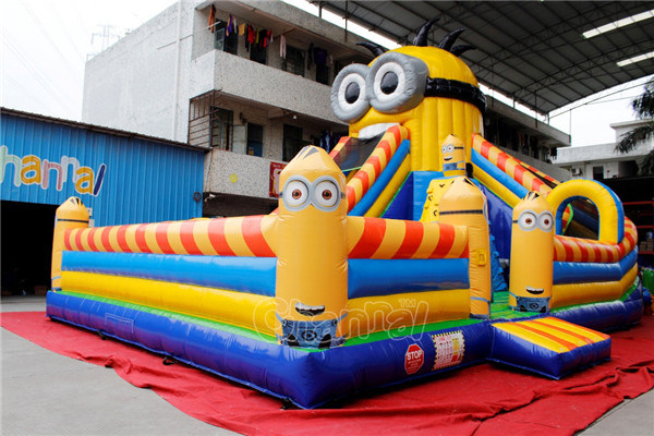Minions Inflatable Obstacle Course Playground Chob529 pictures & photos