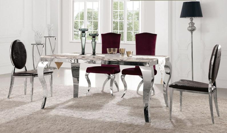 China Foshan Furniture Wholesale Modern Cafe Bistro Dining Table Set ...