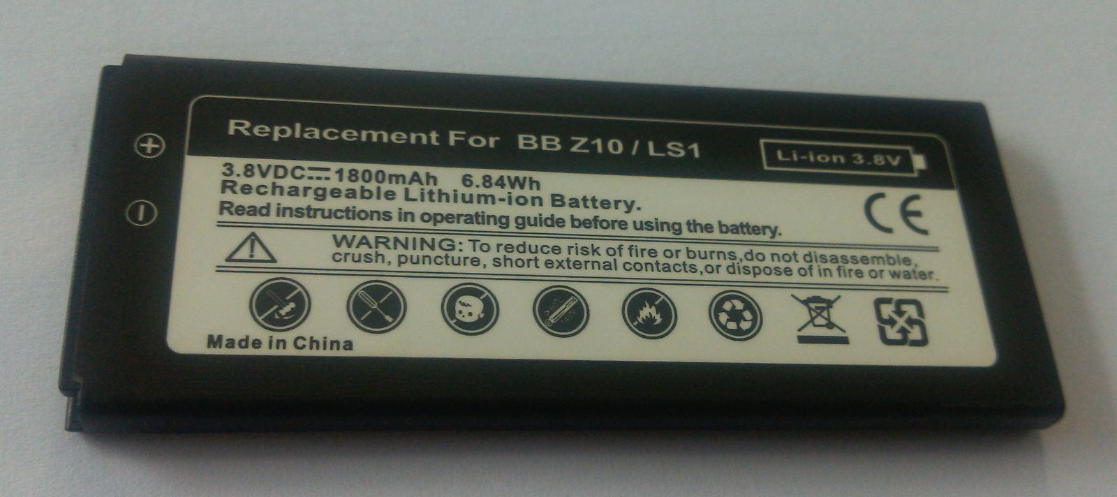 China Mobile Phone Battery for Blackberry Z10 - China Mobile Phone Battery, Cell Phone Battery