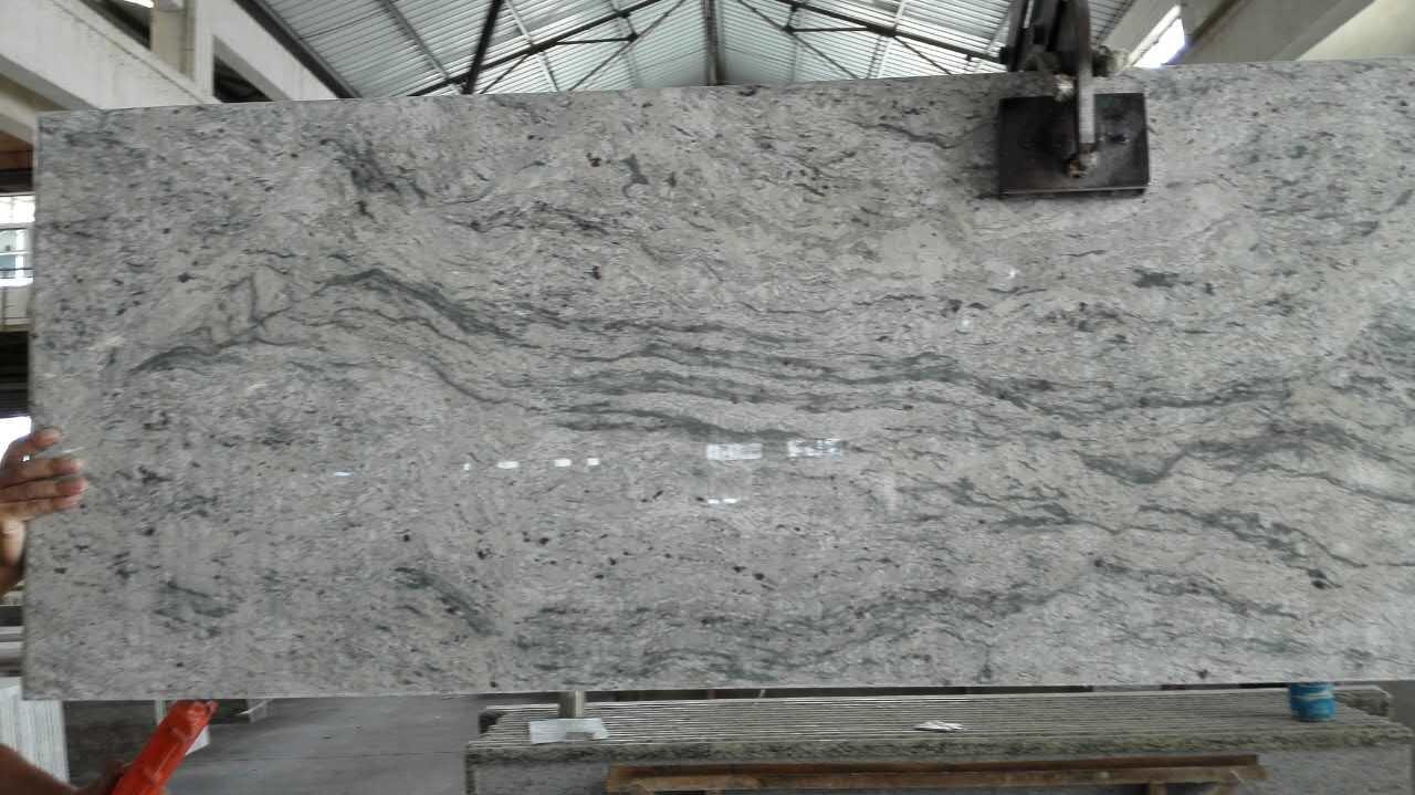 China Wholesale Indian White Galaxy White Granite Floor Tile - China ...