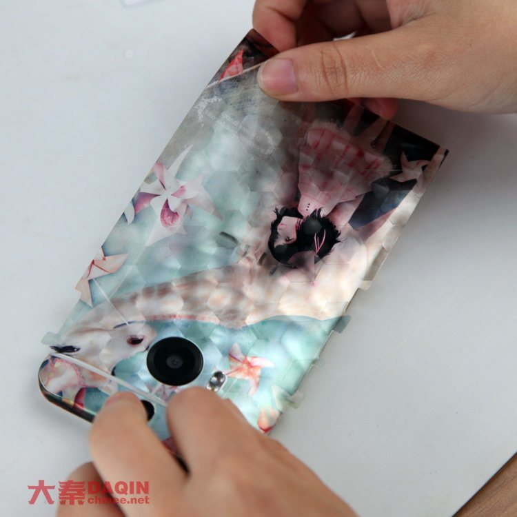 Custom Mobile Phone Sticker Printing and Cutting Machine for Any Phone Accessory