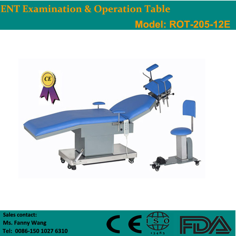 2015 Promotion! ! Electric Ent Examination & Operation Table (ROT-205-12E) -Fanny