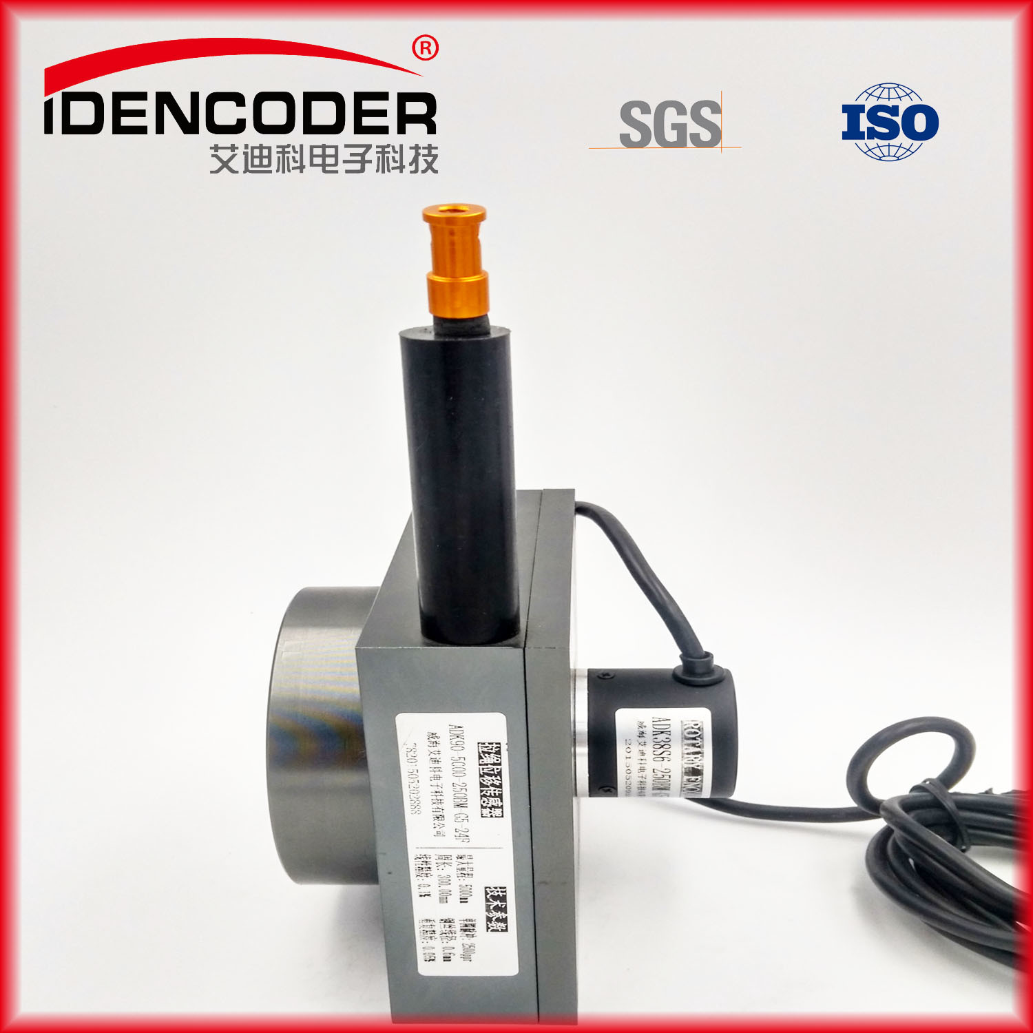 China 3000mm Draw Wire Sensor Analog 4 20ma String Potentiometer Wiring Robot Encoder Incremental