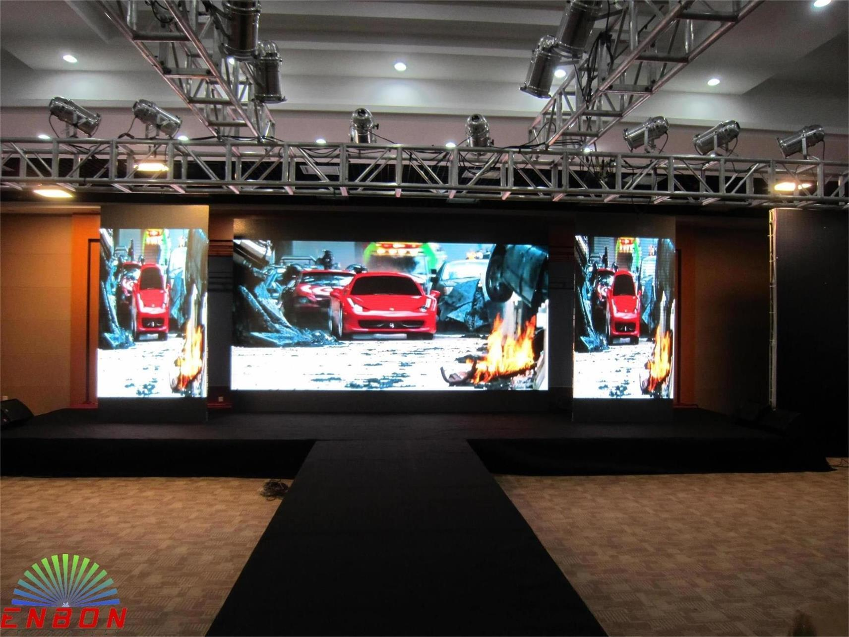 Portble Indoor Full Color Stage Video LED Screen (576*576mm P4.8, P6 LED panel)