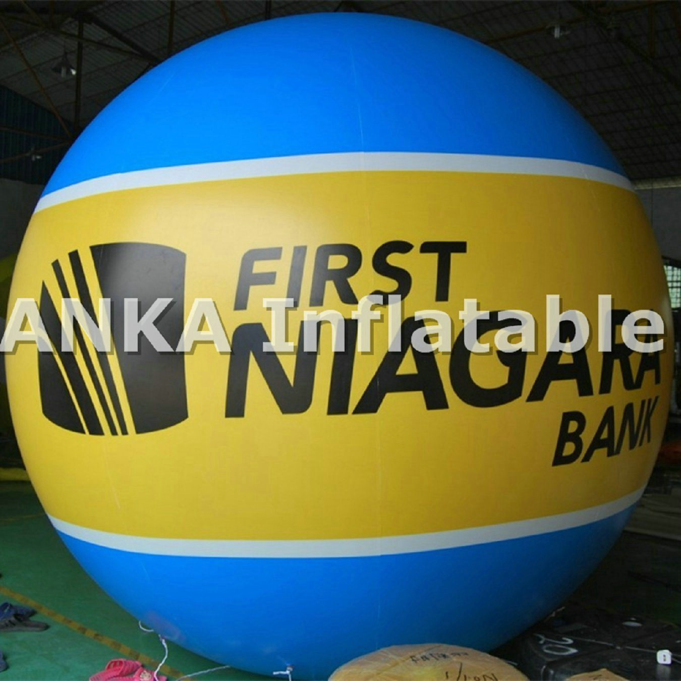 2m Round Inflatable Helium Balloons Sphere for Advertising