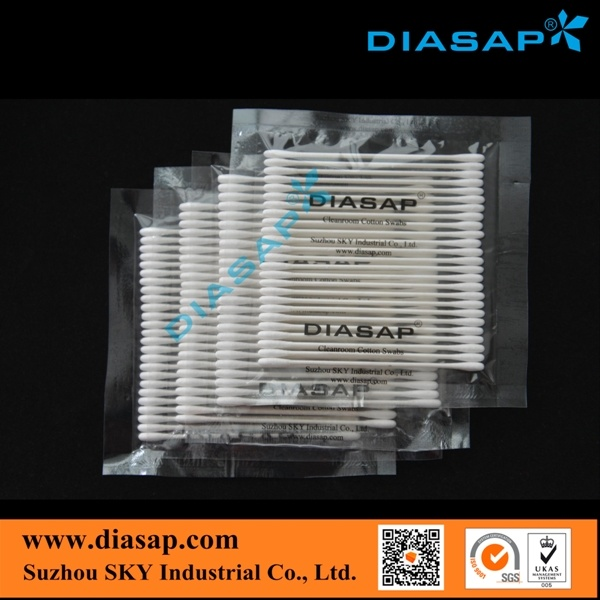 Round Tip Cotton Swab for Electronic Components Cleaning pictures & photos