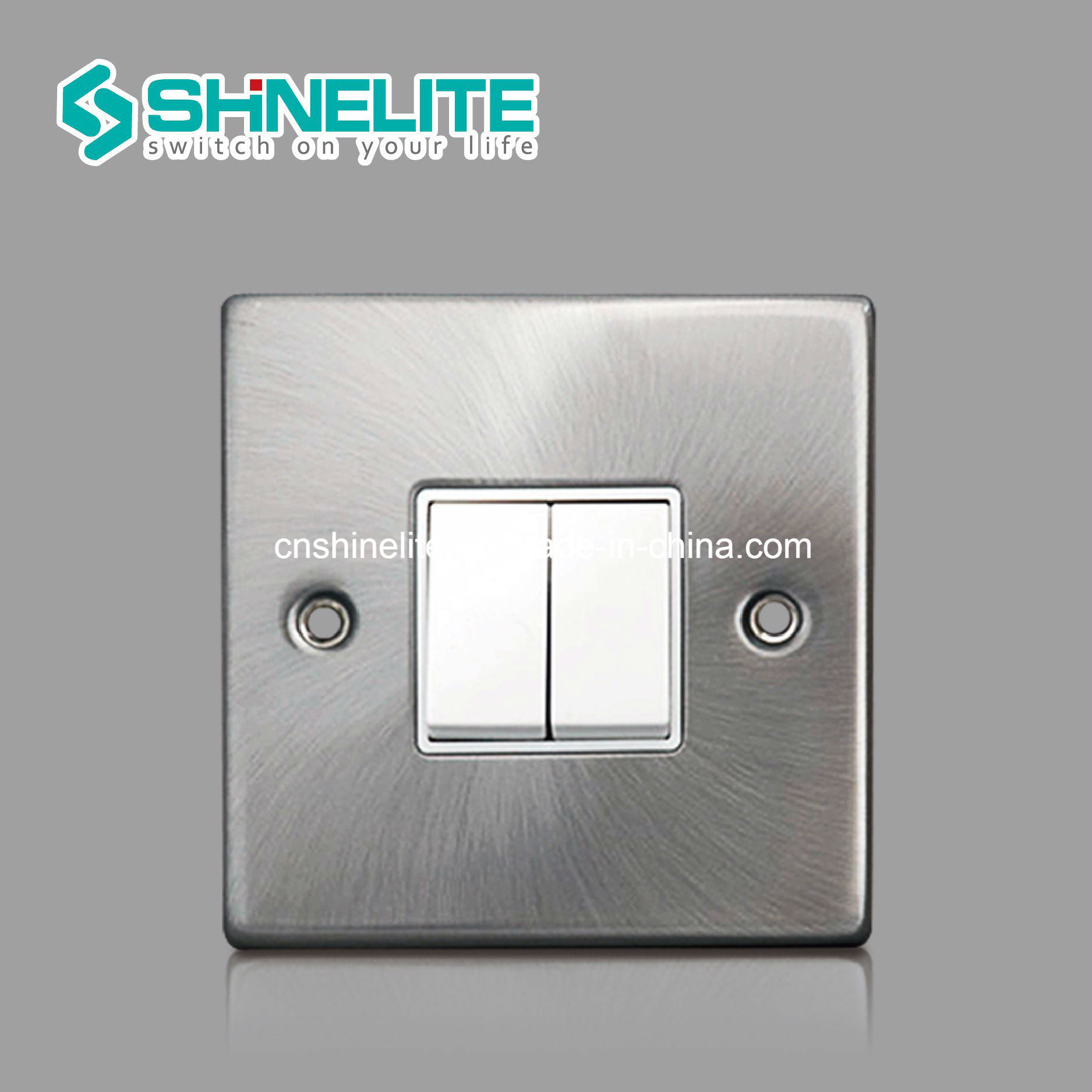 China High Quality 2 Gang 1 Way Electrical Switch with Ce - China ...