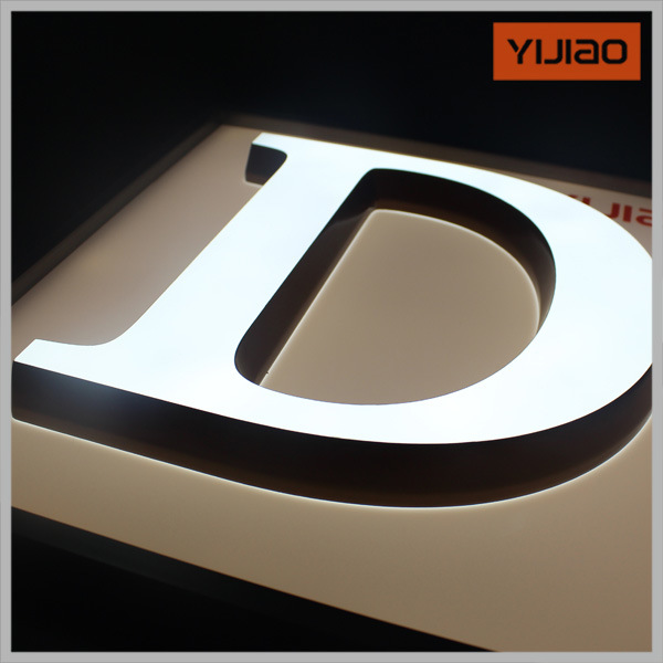 Hot Sale LED Advertising Acrylic Letter Signs