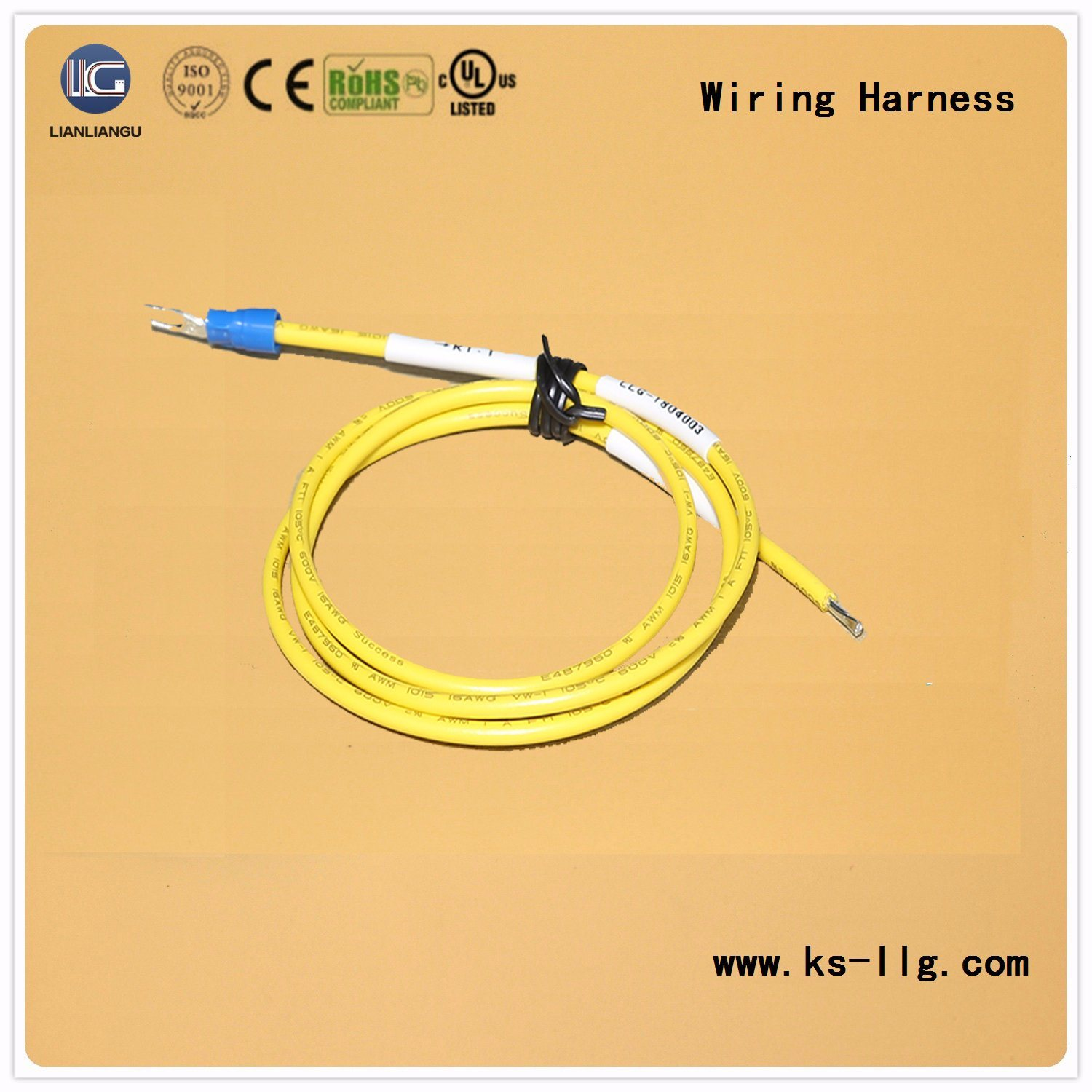 China Power Cord Wiring Harness OEM/ODM Cable Assembly - China ...