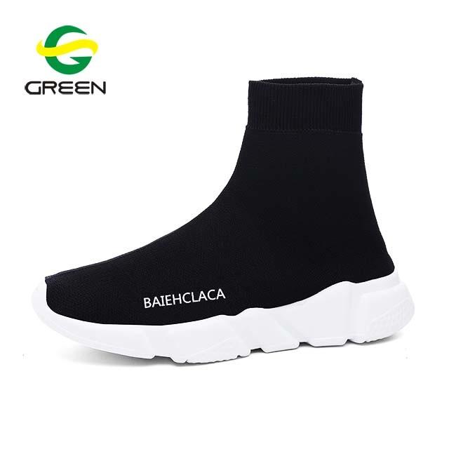 [Hot Item] Greenshoe 2018 New Model High Heel Wedge Sneakers Women, High Top Sneakers Shoes Causal Women