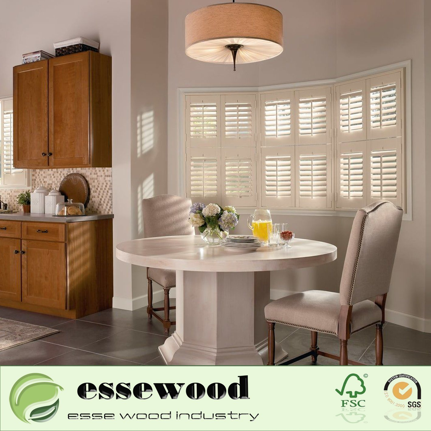 Hot Item High Quality Indoor Window Shutters White Rectangle Pvc Profile Sliding Shutters