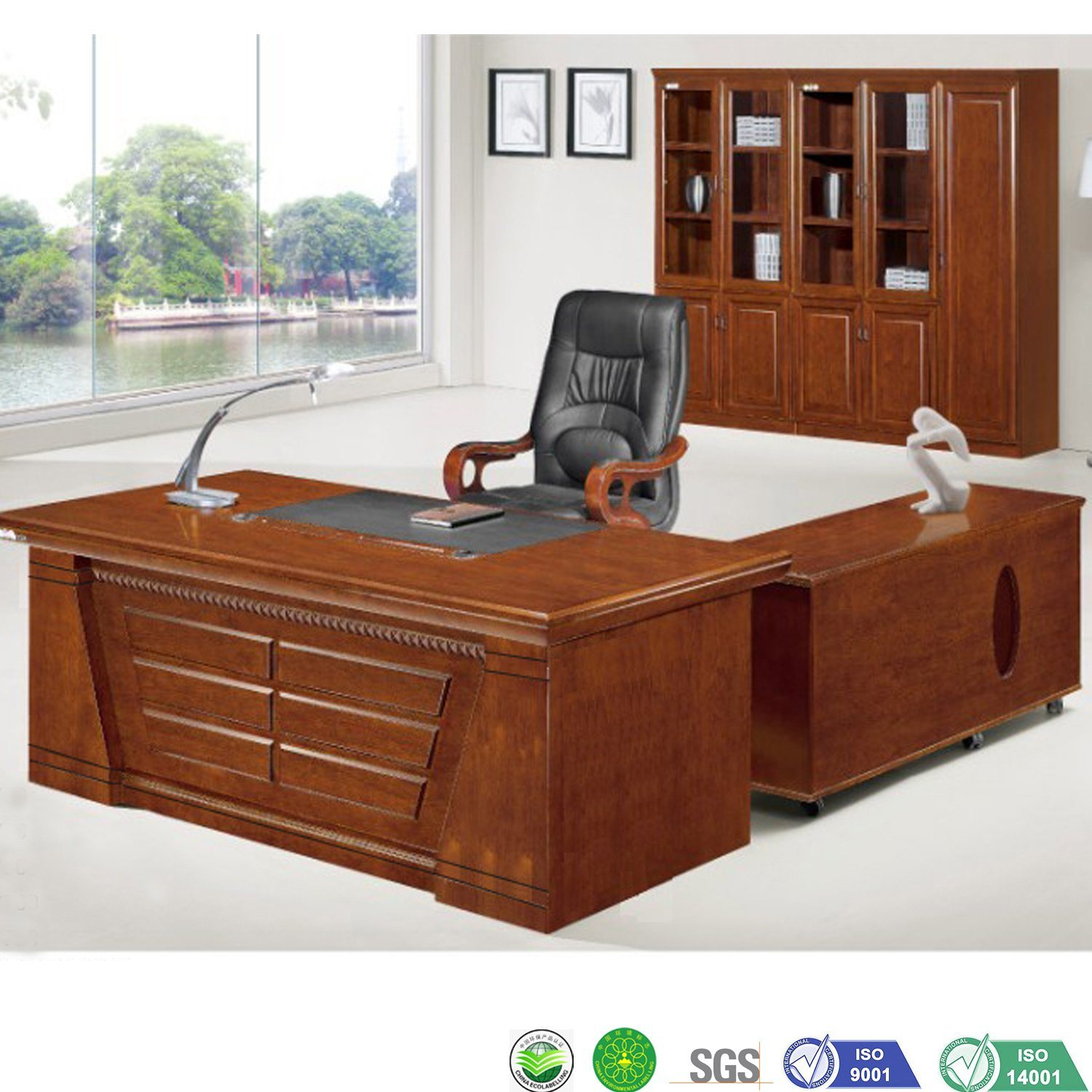 [Hot Item] Chinese Wooden Modern Classic Office Desk Furniture