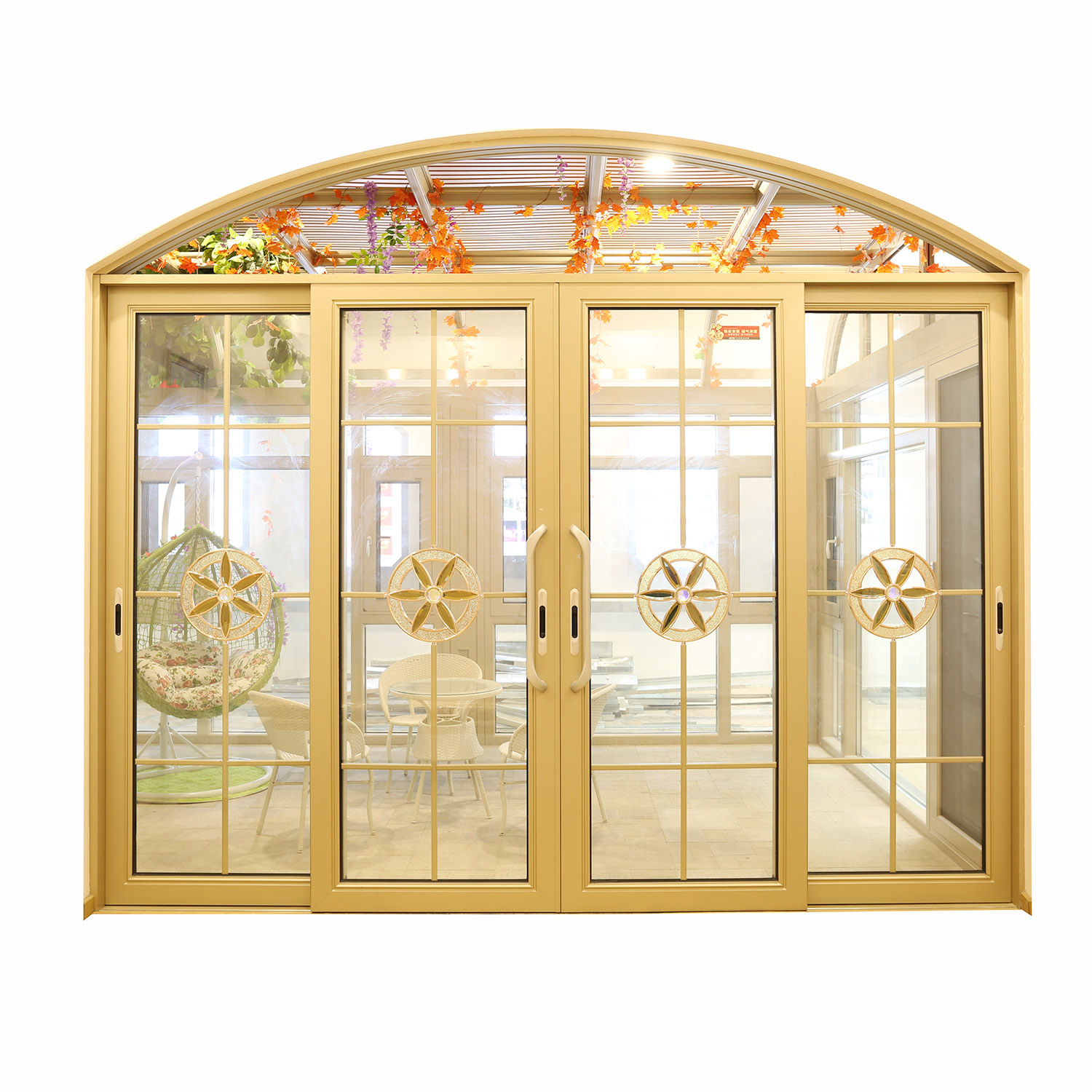 China Cheap Aluminum Profile Interior French Glass 6 Panel Sliding Glass Doors China Interior Sliding Glass Doors Aluminum Profile