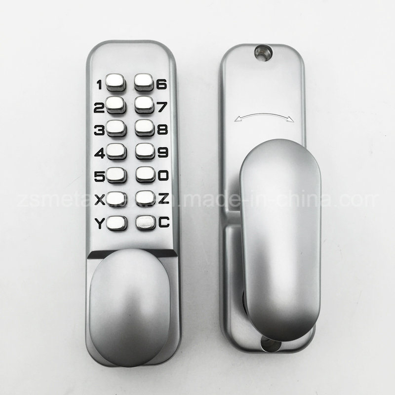 Mechanical Keyless Digital Combination Push Button Security Door Code Lock pictures & photos
