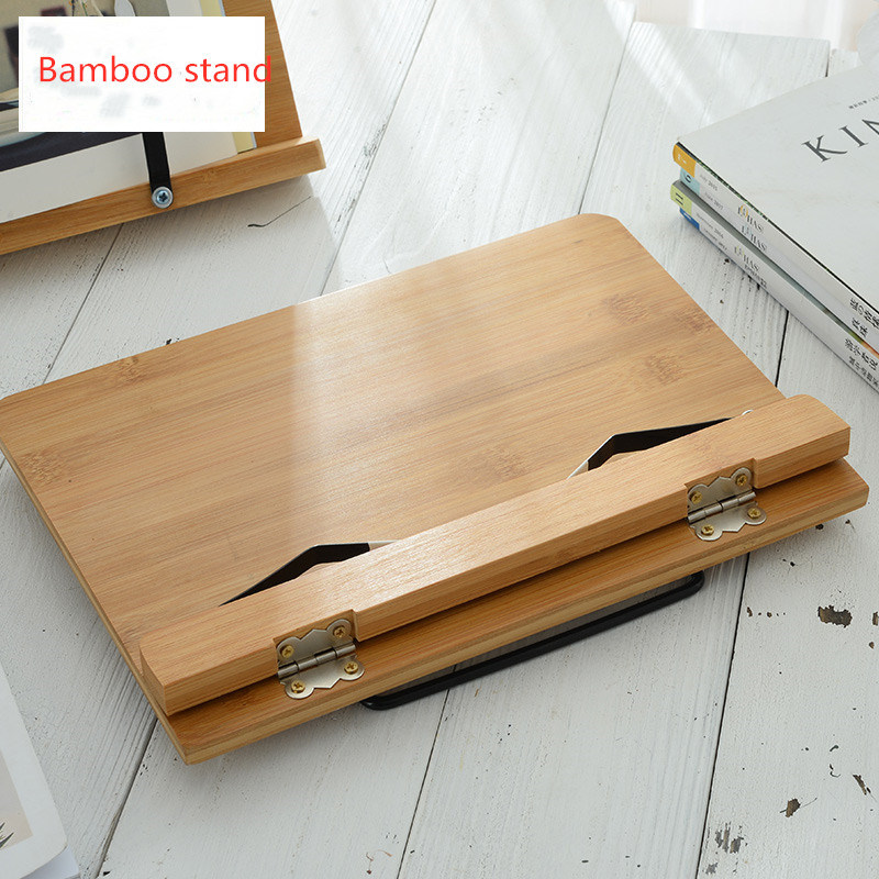 Foldable Music iPad Reading Bamboo Book Rest Stand pictures & photos