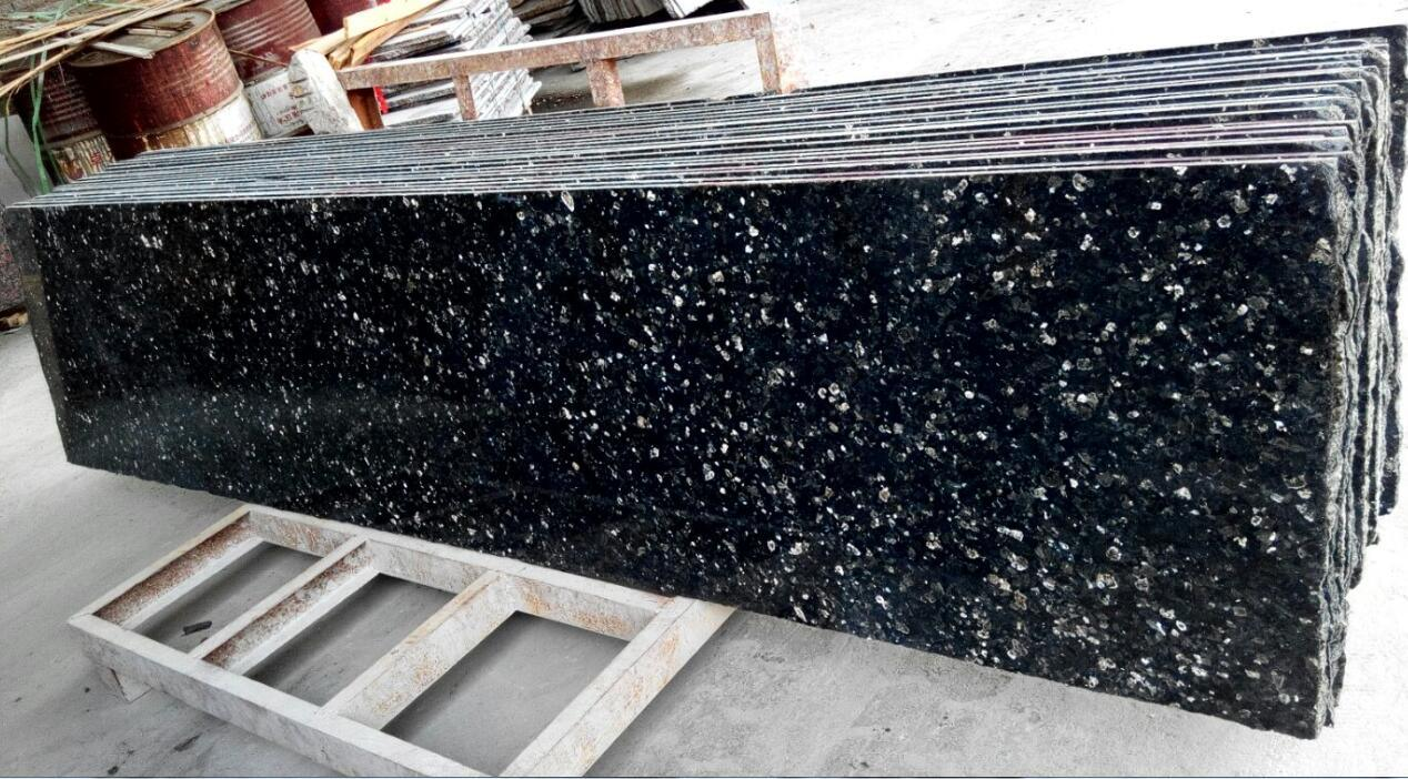 Blue Emerald Pearl Granite Stone Tiles