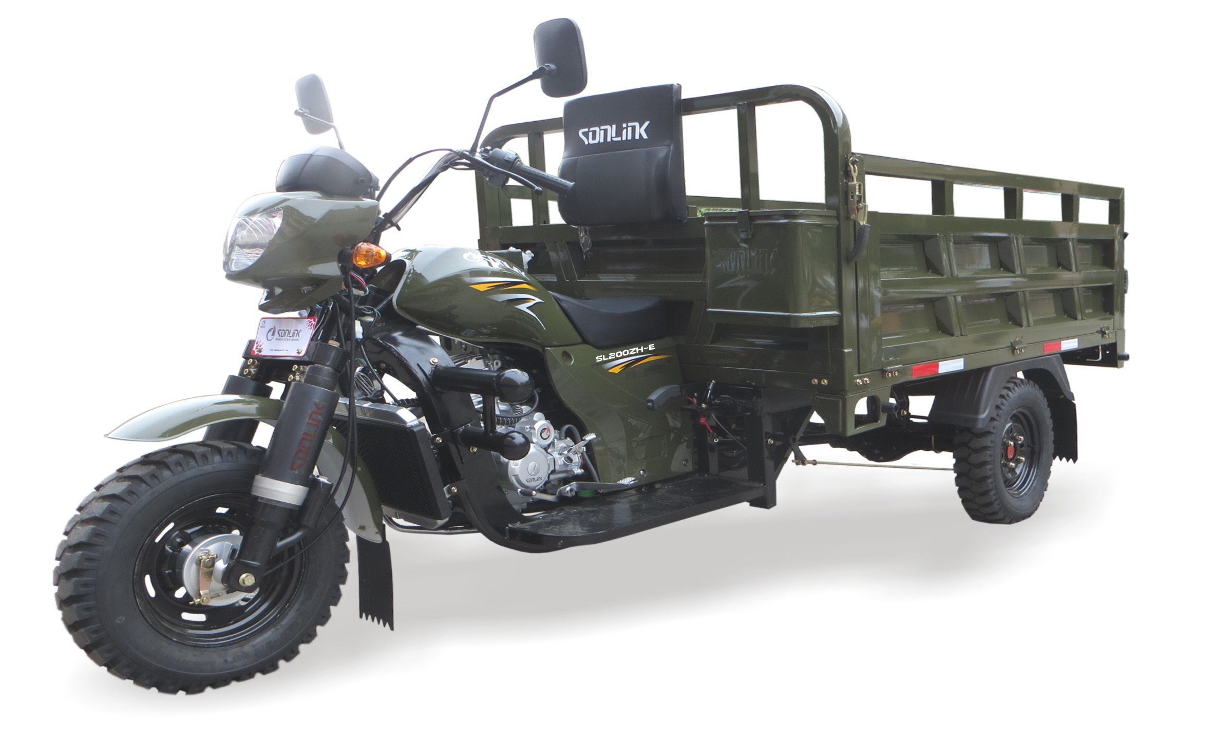 [Hot Item] 150cc/200cc/250cc Water/Air Cooled Heavy Load Cargo Motorcycle /  Tricycle (SL200ZH-E)