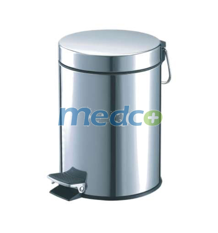 China Stainless Steel Medical Trash Can