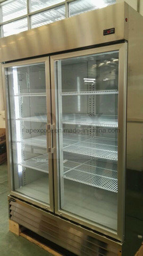 Stainless Steel Glass Door Kitchen Refrigerator with Auto-Defrost System pictures & photos