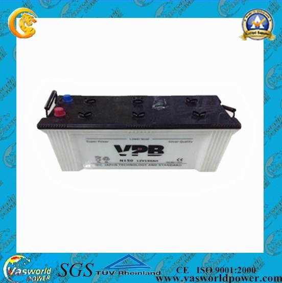 China 190h52 12v 200ah Car Battery Sizes Chart