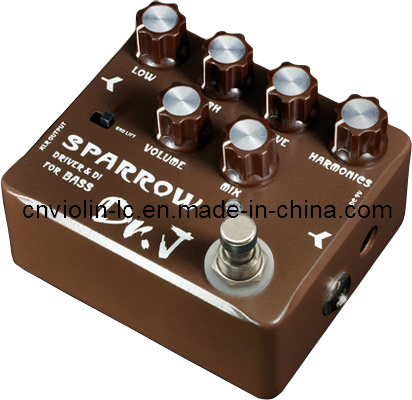 china guitar effects pedal sparrow driver di for bass china effect pedal guitar effect. Black Bedroom Furniture Sets. Home Design Ideas