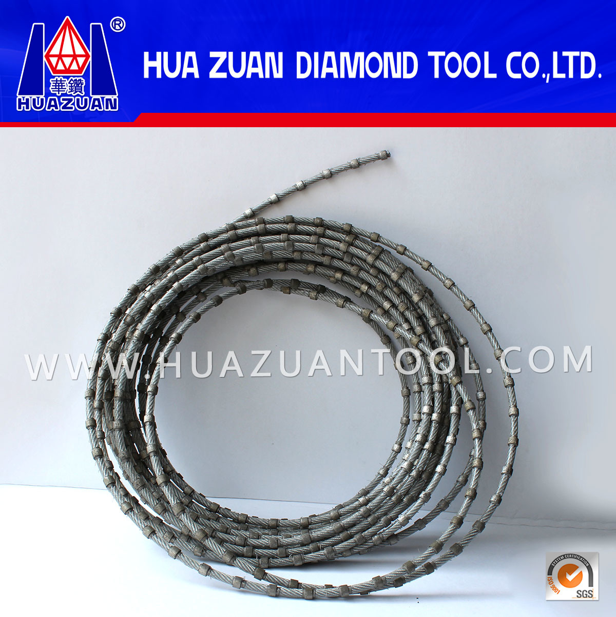 China Diamond Wire Saw for Stone Cutting in The World - China ...