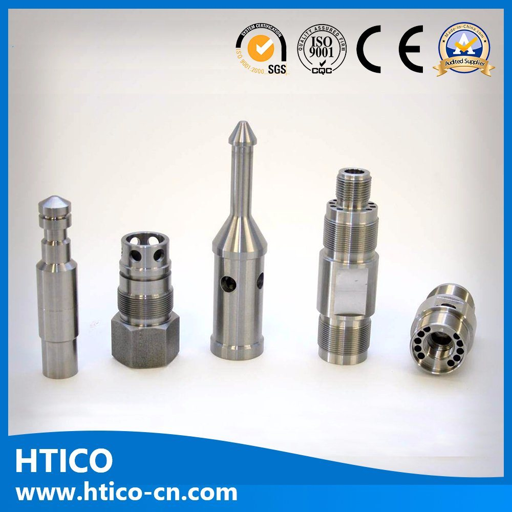 Machining Aluminum/Brass/Stainless Steel Part Shaft/Auto Part/Hardware/5 Axis CNC Machining Parts