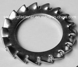 Tooth Lock Washer / Serrated Washer (DIN6798A, J, V)