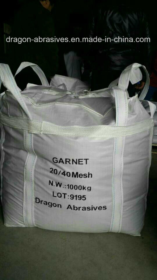 Garnet for Sandblasting and Waterjet Cutting System